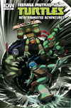 Teenage Mutant Ninja Turtles New Animated Adventures #15 Cover B Incentive S-Bis Variant Cover