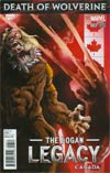 Death Of Wolverine Logan Legacy #3 Cover B Variant Canada Cover