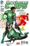 Green Lantern Corps Vol 3 #38 Cover B Variant Bill Sienkiewicz Flash 75th Anniversary Cover