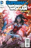 Superman Wonder Woman #15 Cover A Regular Ken Lashley Cover