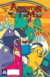 Adventure Time #36 Cover B Variant Ale Giorini Subscription Cover