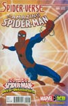 Amazing Spider-Man Vol 3 #9 Cover E Incentive Marvel Animation Spider-Verse Variant Cover (Spider-Verse Tie-In)