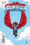 All-New Captain America #1 Cover B Variant Skottie Young Baby Cover