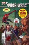 Spider-Verse #1 Cover B Variant Rocket Raccoon & Groot Cover