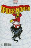 Spider-Woman Vol 5 #1 Cover B Variant Skottie Young Baby Cover (Spider-Verse Tie-In)