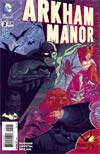 Arkham Manor #2 Cover B Incentive Chris Brunner Variant Cover
