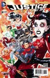 Justice League Vol 2 #39 Cover B Variant Dustin Nguyen Harley Quinn Cover