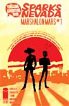 Thrilling Adventure Hour Presents Sparks Nevada Marshal On Mars #1 Cover A J Bone