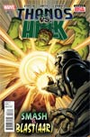 Thanos vs Hulk #3 Cover A Regular Jim Starlin Cover