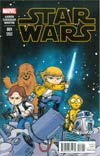 Star Wars Vol 4 #1 Cover H Variant Connecting Skottie Young Baby Cover (Part 1 of 3)