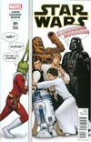 Star Wars Vol 4 #1 Cover I Variant John Tyler Christopher Humorous Party Color Cover
