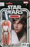 Star Wars Vol 4 #1 Cover J Variant Star Wars Action Figure Cover