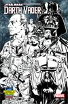 Darth Vader #1 Cover C Midtown Exclusive Mark Brooks Connecting Sketch Variant Cover (Part 2 of 3)
