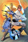 Star Wars Vol 4 #1 Cover F DF Exclusive Greg Land Connecting Color Variant Cover (Part 1 of 3)
