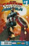 All-New Captain America #1 Cover M 2nd Ptg Stuart Immonen Variant Cover