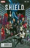 S.H.I.E.L.D. Vol 4 #1 Cover G Variant David Marquez Young Guns Cover