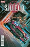 S.H.I.E.L.D. Vol 4 #1 Cover I Variant Valerio Schiti Young Guns Cover