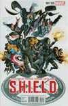 S.H.I.E.L.D. Vol 4 #1 Cover L Incentive Mike Deodato Jr Variant Cover
