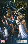Star Wars Vol 4 #1 Cover Q Incentive J Scott Campbell Connecting Variant Cover