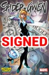 Spider-Gwen #1 Cover L Midtown Exclusive J Scott Campbell Color Variant Cover Signed By Jason Latour (Limit 1 Per Customer)