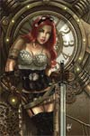 Legenderry Red Sonja #1 Cover F Rare Cedric Poulat Virgin Incentive Cover