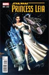 Princess Leia #1 Cover L Incentive J Scott Campbell Connecting Variant Cover