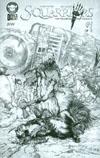 Squarriors #1 Cover E Sketch Edition