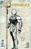 Convergence #6 Cover D Incentive Aquaman Sketch Variant Cover
