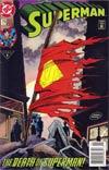 Superman Vol 2 #75 (UPC) 4th Printing