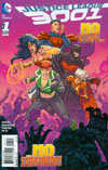 Justice League 3001 #1 Cover B Incentive Scott Kolins Variant Cover