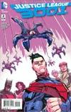 Justice League 3001 #2 Cover B Incentive Scott Hepburn Variant Cover