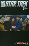 Star Trek (IDW) #50 Cover C Variant Photo Subscription Cover