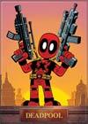 Marvel Comics 2.5x3.5-inch Magnet - Deadpool Mini With Guns (71855MV)