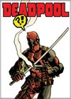 Marvel Comics 2.5x3.5-inch Magnet - Deadpool Smoking Gun Exclamations (71860MV)