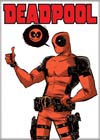 Marvel Comics 2.5x3.5-inch Magnet - Deadpool With Own Face In Word Bubble (71861MV)