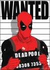 Marvel Comics 2.5x3.5-inch Magnet - Deadpool Wanted (71863MV)