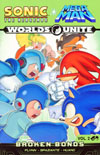 Sonic Mega Man Worlds Unite Vol 2 Broken Bonds TP