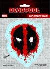 Deadpool Vinyl Decal - Splatter Logo