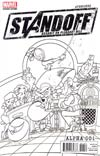 Avengers Standoff Assault On Pleasant Hill Alpha #1 Cover D Incentive Party Sketch Variant Cover