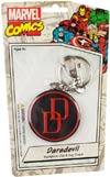 Marvel Comics 2-Inch Bendable Keychain - Daredevil Retro Logo