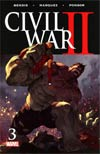 Civil War II #3 Cover A Regular Marko Djurdjevic Cover