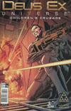 Deus Ex Universe Childrens Crusade #5 Cover C Variant Ronan Cliquet Cover