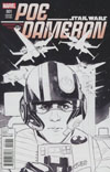 Star Wars Poe Dameron #1 Cover I Incentive Phil Noto Sketch Variant Cover