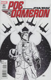 Star Wars Poe Dameron #1 Cover J Incentive John Cassaday Sketch Variant Cover