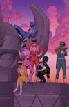 Mighty Morphin Power Rangers (BOOM Studios) #2 Cover E Incentive Joe Quinones Virgin Variant Cover
