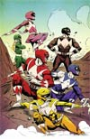 Mighty Morphin Power Rangers (BOOM Studios) #3 Cover E Incentive Sanford Greene Virgin Variant Cover