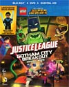 LEGO DC Comics Super Heroes Justice League Gotham City Breakout Blu-ray Combo DVD With Mini Figure