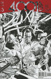 4001 AD #3 Cover H Incentive Ryan Sook Interlocking Artist Sketch Variant Cover