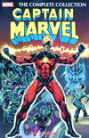 Captain Marvel By Jim Starlin Complete Collection TP