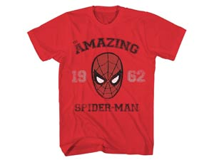 Spider-Man Back To School Red T-Shirt X-Large